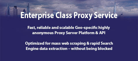 Free Trial - Premium Proxy Service - Trusted Proxies